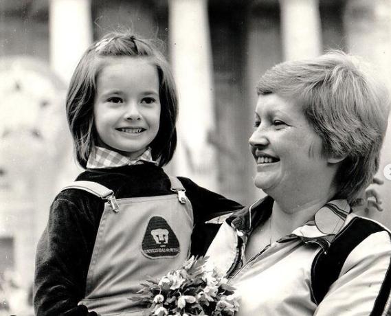 виктория талышинская и мама