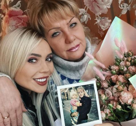Karina Kross с мамой