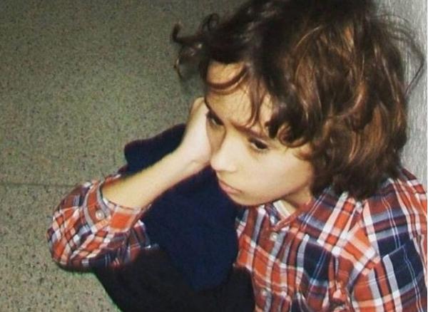 Артем Готлиб в детстве